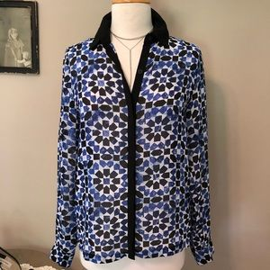Michael Kors Print Shirt/ Blouse